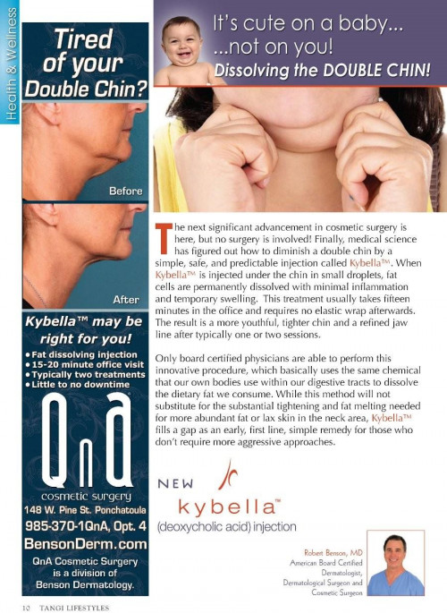 Tangi Lifestyles December 2015 - Dissolving the DOUBLE CHIN!